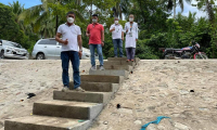 Improvement/Rehabilitation of Road at Brgy. Salvacion, this Municipality